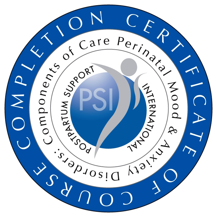 Postpartum Support International Certificate of Completion